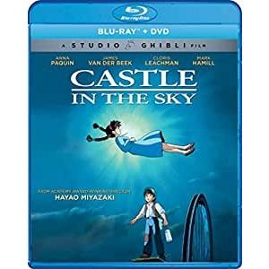 送料無料 天空の城ラピュタ 宮崎駿 ジブリの名作 お得なブルーレイ BD&DVD コンボボックス 北米版|two-r