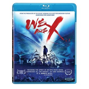 WE ARE X アメリカ版Blu-ray X JAPANの...