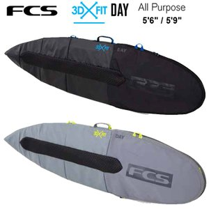 FCS エフシーエス ボードケース  3DxFit Day All Purpose Cover 5'...