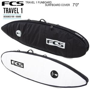 FCS エフシーエス サーフボードケース   TRAVEL 1 FUNBOARD SURFBOARD...