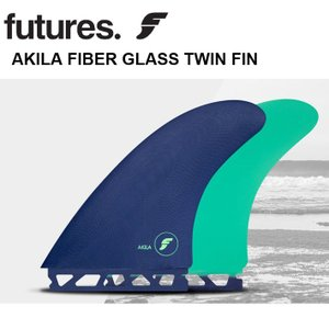 FUTURES FIN フューチャーツインフィン FIBER GLASS TWIN AKILA AI...