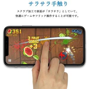 アンチグレア強化ガラスiPhone 11/iPhoneXR対応 Mothca 液晶 スクラブガラス ...