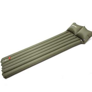 YWSHF 車中泊 エアーマット 自動膨張 簡易 枕が付き 折りたたみ 収納便利 防災 防水 軽量 ...