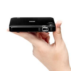 サンワダイレクト モバイルプロジェクター HDMI バッテリー / スピーカー内蔵 軽量128g 静...