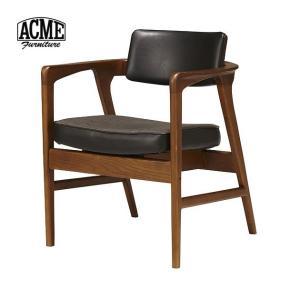 ACME Furniture アクメファニチャー WARNER ARM CHAIR BLACK ワーナー ダイニングチェア ブラック|tycoon