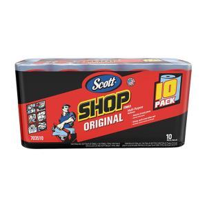 スコット ショップタオル 55枚 10ロール Scott SHOP TOWELS ペーパーウエス ペーパータオル 掃除 雑巾|tycoon