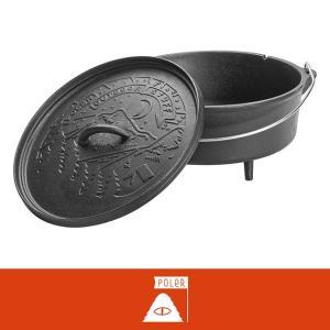 POLeR (ポーラー) ダッチオーブン 10インチ|tycoon