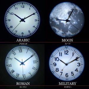 Projection Clock プロジェクションクロック プロジェクター 時計 クロック 掛け時計 置時計|tycoon|03