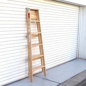 ミシガンラダー ウッドステップラダー サイズ6 Wood Step Ladder Size 6|tycoon