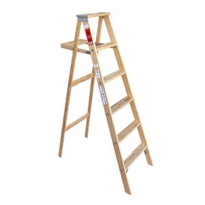 ミシガンラダー ウッドステップラダー サイズ6 Wood Step Ladder Size 6|tycoon|02