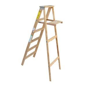 ミシガンラダー ウッドステップラダー サイズ6 Wood Step Ladder Size 6|tycoon|03