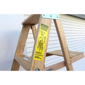 ミシガンラダー ウッドステップラダー サイズ6 Wood Step Ladder Size 6|tycoon|05