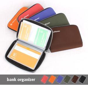 バンクオーガナイザー bank organizer 通帳ケース カードケース パスポートケース マルチケース|tycoon