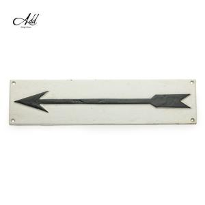 商品名:Goody Grams Add / SIGN PLATE-ARROW(L)  商品説明:鉄で...