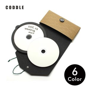 CDケース DVDケース 持ち運び 2枚 収納 日本製 CODDLE コドル +PAPER 12|tycoon
