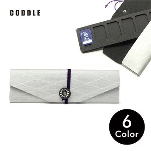 SDカードケース メモリーカードケース 6枚収納 旅行 持ち運び 日本製 CODDLE コドル +PAPER 13|tycoon