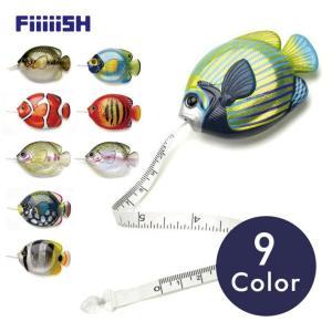 FiiiiiSH / FISH MEASURE フィッシュメジャー 巻尺 魚 釣り ルアー|tycoon