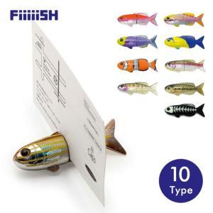 磁石 マグネット おもちゃ カード立て カードスタンド フィッシュマグネット FiiiiiSH FISH MAGNET|tycoon