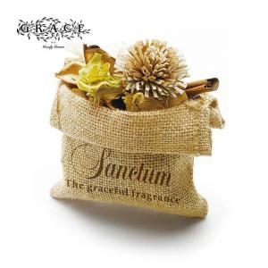 Goody Grams / SANCTUM JUTE BAG POTPOURRI ルームフレグランス ポプリ アロマ ドライフラワー|tycoon
