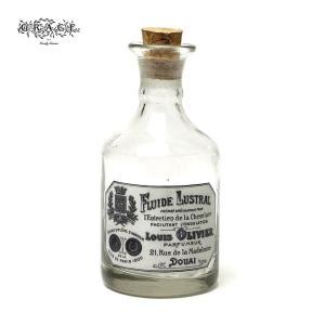 アンティーク ガラス ボトル 瓶 コルク 蓋付 花瓶 一輪挿し フラワーベース 小物 置物 おしゃれ ヴィンテージ Goody Grams VINTAGE BOTTLE|tycoon