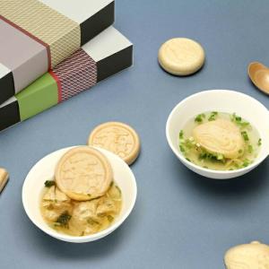 【6個セット】MAM CAFE / MAM OSUIMONO SET 02 お吸い物最中 6個セット 詰め合わせ 最中 国産 インスタントスープ MAMCAFE マムカフェ|tycoon