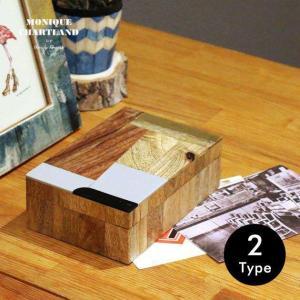小物入れ おしゃれ ふた付き 卓上 箱 木製 メンズ Goody Grams WOOD BOX AVANI CHAITRA|tycoon
