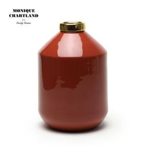 MONIQUE CHARTLAND / ENAMEL VASE 01 ドライフラワー用 フラワーベース 枝物 置物 オブジェ ドライフラワー おしゃれ かわいい 金属|tycoon