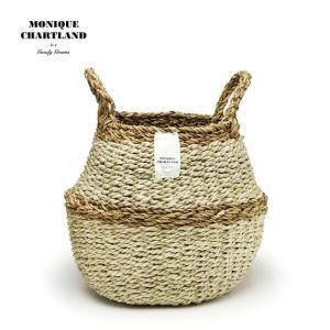 2WAY【Sサイズ】バスケット プランターカバー 鉢カバー かご おしゃれ 編み 洗濯物入れ  jute ROPE ROUND BASKET S|tycoon