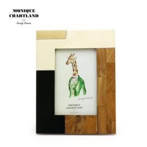 フォトフレーム 写真立て 木製 アンティーク 壁掛け MONIQUE CHARTLAND/VYOMINI|tycoon
