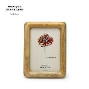 フォトフレーム 写真立て 木製 アンティーク 壁掛け MONIQUE CHARTLAND/VRISHNI|tycoon
