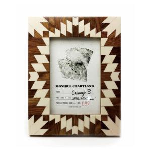Goody Grams / PHOTO FRAME CHIMAYO B 木製 フォトフレーム 写真立て アンティーク 木製 おしゃれ 壁掛け 葉書 ハガキ 卓上|tycoon
