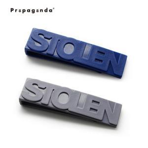 クリップ マネークリップ おしゃれ プロパガンダ PROPAGANDA STOLEN CLIP|tycoon