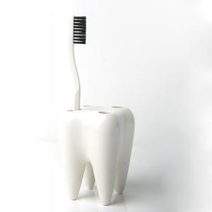 歯ブラシスタンド 歯ブラシホルダー 歯ブラシ立て 陶器 おしゃれ 歯医者 開業祝|tycoon