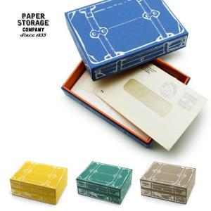 小物入れ 収納 ボックス ケース おしゃれ かわいい Paper storage company TRAVEL-TRUNK L tycoon