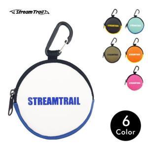 カラビナ付き 防水 コインケース 財布 小銭入れ メンズ レディース  SD Coin Case III Emerald/Azure Stream trail ストリームトレイル tycoon