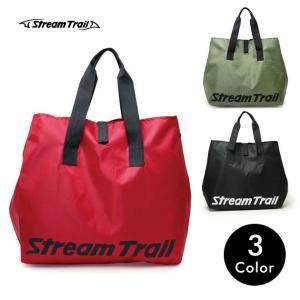 ストリームトレイル OBL TOTE BAG Stream Trail トートバッグ 大きめ 赤 ナイロン メンズ|tycoon