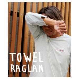 ストリームトレイル レイジーボブ LAZY BOB TOWEL RAGLAN SHIRT タオルラグランTシャツ Stream Trail tycoon