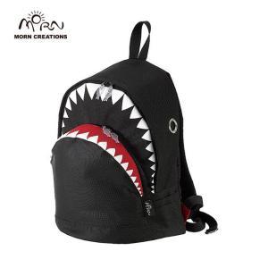 サメ リュック モーンクリエイションズ シャークバックパック L ブラック MORN CREATIONS SK-101|tycoon