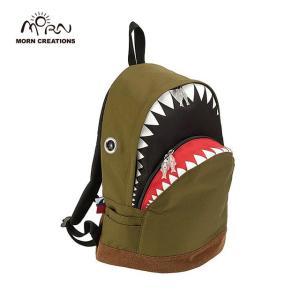 サメ リュック モーンクリエイションズ シャークバックパック L グリーン MORN CREATIONS SK-101|tycoon