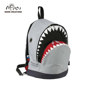 サメ リュック モーンクリエイションズ シャークバックパック L グレー MORN CREATIONS SK-101|tycoon