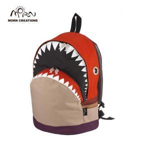 サメ リュック モーンクリエイションズ シャークバックパック L レッド MORN CREATIONS SK-101|tycoon