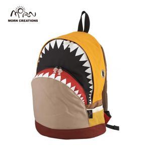 サメ リュック モーンクリエイションズ シャークバックパック L イエロー MORN CREATIONS SK-101|tycoon