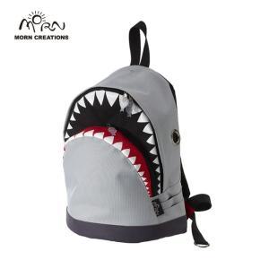 サメ リュック モーンクリエイションズ シャークバックパック M グレー MORN CREATIONS SK-102|tycoon