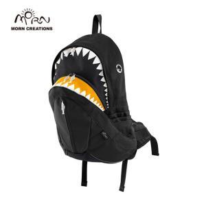 サメ リュック モーンクリエイションズ シャークバックパック レイン ブラック MORN CREATIONS SK-228|tycoon