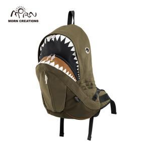 サメ リュック モーンクリエイションズ シャークバックパック レイン グリーン MORN CREATIONS SK-228|tycoon