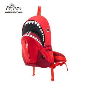 サメ リュック モーンクリエイションズ シャークバックパック レイン レッド MORN CREATIONS SK-228|tycoon