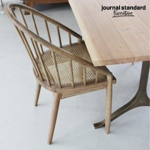 ジャーナルスタンダードファニチャー journal standard GIORGI CHAIR LB ジョルジチェア ブラウン 椅|tycoon
