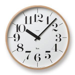 Lemnos(レムノス) Riki Clock(リキクロック) 時計 壁掛け 掛け時計 (φ365mm) WR-0401L ボールド|tycoon