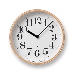 Lemnos(レムノス) Riki Clock(リキクロック) 時計 壁掛け 掛け時計 (φ203mm) WR-0401S ボールド|tycoon