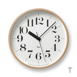 Lemnos(レムノス) Riki Clock(リキクロック) 電波時計 掛け時計 (φ254mm) WR07-11 ボールド|tycoon